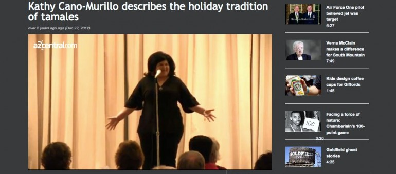 Storytelling: Holiday Tamale Drama